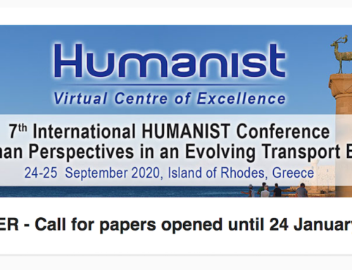 Human Perspective in an Evolving Transport Era: the HUMANIST Conference in Greece