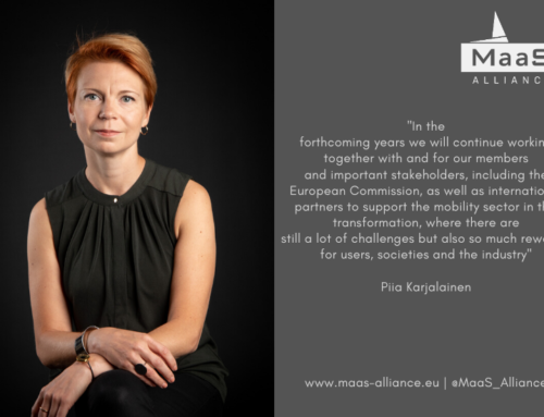 Piia Karjalainen is the new Secretary General of the MaaS Alliance