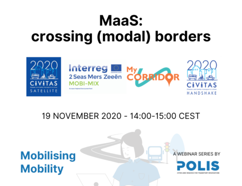 Mobilising Mobility: MyCorridor at the POLIS event
